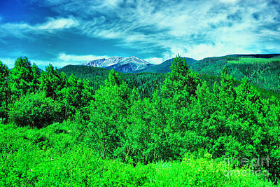 Royalty-Free and Rights-Managed Images - Beautiful mountain view  by Jeff Swan
