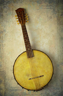 Photograph - Beautiful Old Banjo by Garry Gay