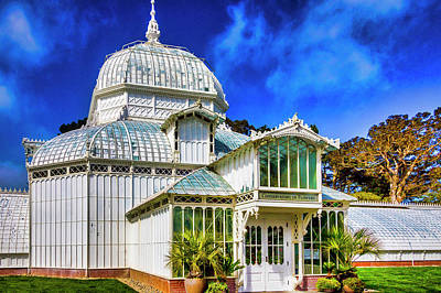 Photograph - Beautiful Old Conservatory Of Flowers by Garry Gay