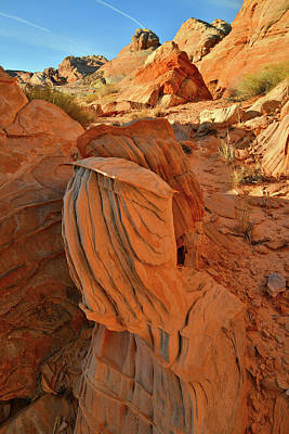 Photograph - Beautiful Sandstone Forms In Valley Of Fire Cove by Ray Mathis