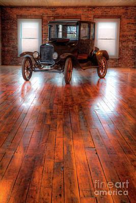 Photograph - Beautiful Vintage Car Model A by Dan Carmichael