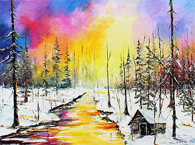 Painting - Beautiful Winter by Kevin Brown