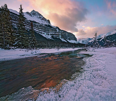 Photograph - Beauty Creek Winter by Dan Jurak