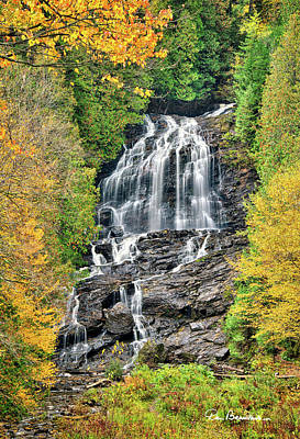 Dan Beauvais Royalty-Free and Rights-Managed Images - Beaver Brook Falls 8221 by Dan Beauvais