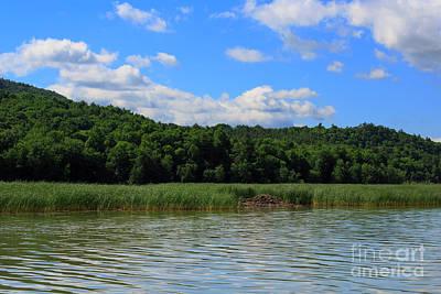 Photograph - Beaver Lodge On Southern Lake Champlain New York by Louise Heusinkveld