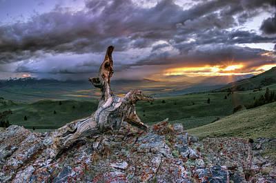 Photograph - Beaverhead Sunrise by Leland D Howard
