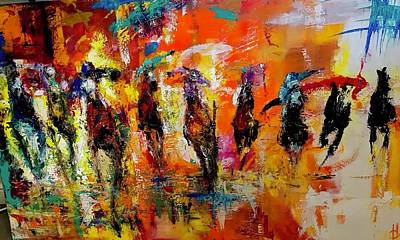 Painting - Because I Can by Heather Roddy