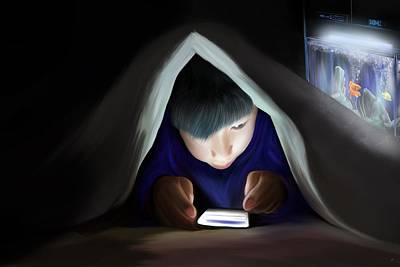 Digital Art - Bedtime Story by Mark Taylor