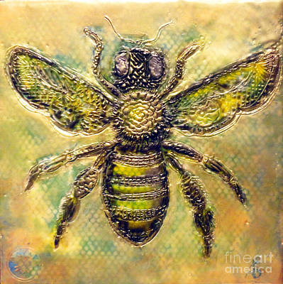 Painting - Bee by Amy Stielstra