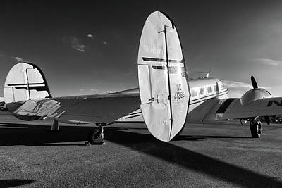 Photograph - Beech 18 by Chris Buff