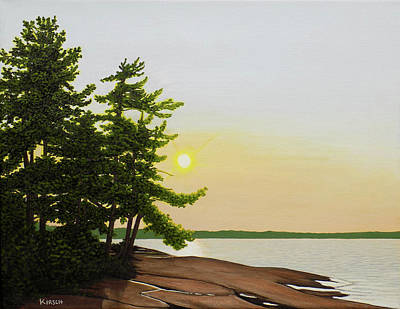 Painting - Beechey Point by Kenneth Kirsch