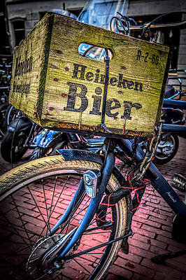 Photograph - Beer Bike by Debra and Dave Vanderlaan