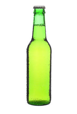 Photograph - Beer Bottle by Micropic