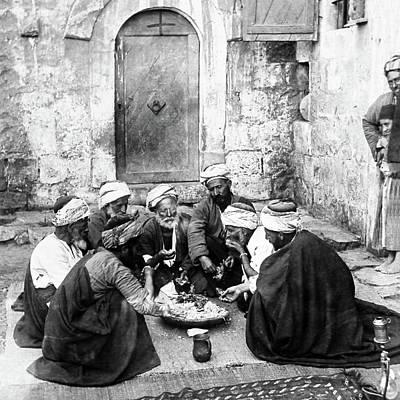 Photograph - El Bireh Feast by Munir Alawi