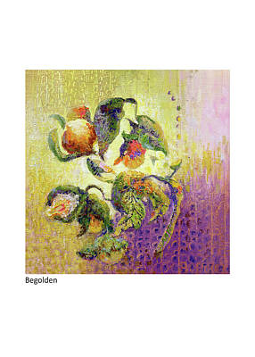 Painting - Begolden by Betsy Derrick