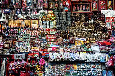 Photograph - Beijing Souvenirs by Ian Robert Knight