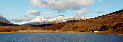 Torridon Wall Art - Photograph - Beinn Damph From Loch Coultrie, Wester by Elgol
