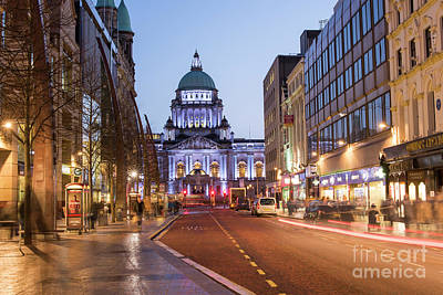 Photograph - Belfast City Hall by Juli Scalzi