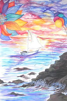 Painting - Believe by Lisa Bunsey