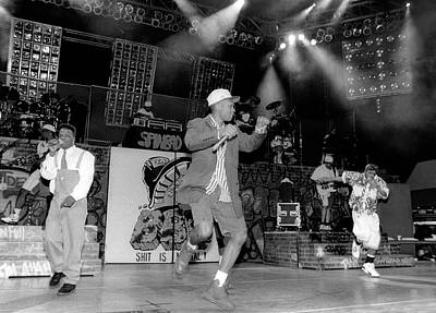 Photograph - Bell Biv Devoe Live In Chicago by Raymond Boyd