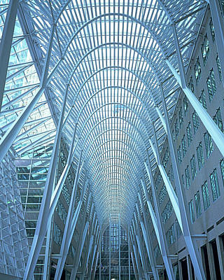 Photograph - Bell Canada Enterprises Building by Len Staples
