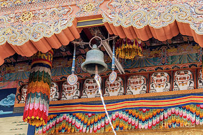 The Rolling Stones - Bell in Punakha Dzong - Bhutan by Ulysse Pixel