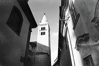 Photograph - Bell Tower Of  St. George Basilica. Old Prague by Jenny Rainbow