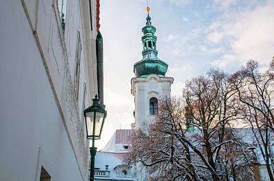 Photograph - Bell Tower Of Strahov Monastery  by Jenny Rainbow