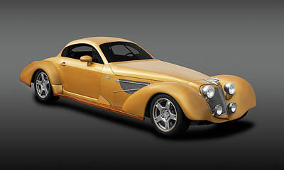 Photograph - Bella Elan Luxury Sport Coupe  -  1937bellelanluxcoupefa184164 by Frank J Benz