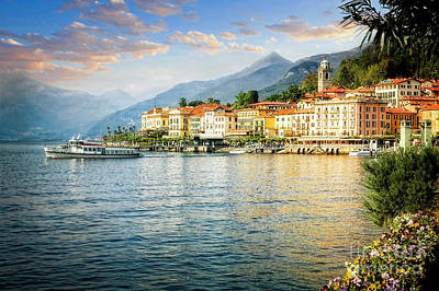 Photograph - Bellagio On The Lake by Scott Kemper