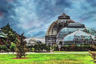 Photograph - Belle Isle Conservatory Dsc_0943 by Michael Thomas
