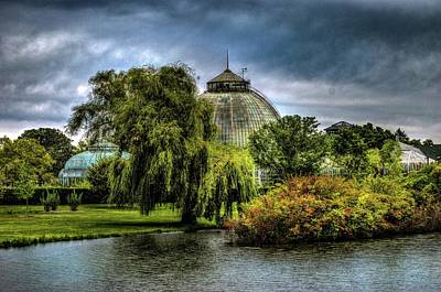 Digital Art - Belle Isle Conservatory Dsc_0956 by Michael Thomas