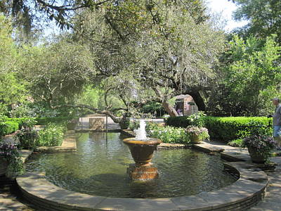 Photograph - Bellingrath Fountain by Peggy M McAloon