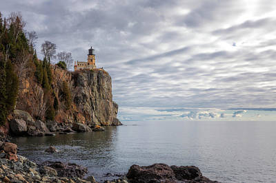 Photograph - Below Split Rock Lighthouse by Susan Rissi Tregoning