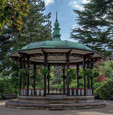 Photograph - Belper River Gardens Band Stand by Scott Lyons