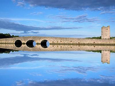 Photograph - Belvelly Castle Reflection by Joan Stratton