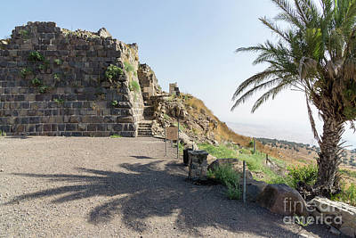 Photograph - Belvoir Crusaders Fortress In Israel by William Kuta