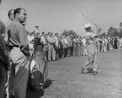 Photograph - Ben Hogan by Loomis Dean