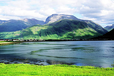 Scenery Photograph - Ben Nevis And Fort William, From Corfach by Neil Holmes