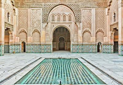 Islam Wall Art - Photograph - Ben Youssef Madrasa by (c) Thanachai Wachiraworakam