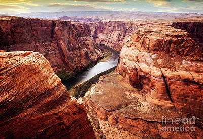 Photograph - Bending River by Scott Kemper