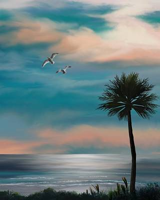 Painting - Beneath A Florida Sky by Mark Taylor