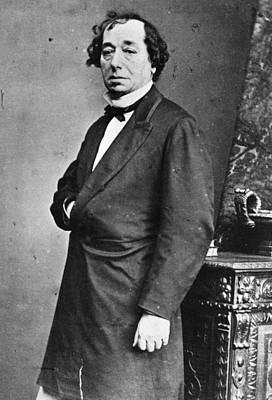 Benjamin Disraeli Art Print by General Photographic Agency