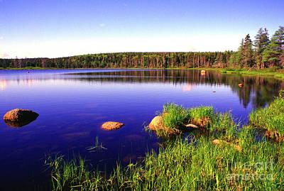 Photograph - Benjies Lake Cape Breton Highlands by Thomas R Fletcher