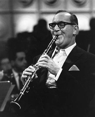 Photograph - Benny Goodman by Erich Auerbach