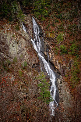 Photograph - Bent Mountain Falls by Alan Raasch