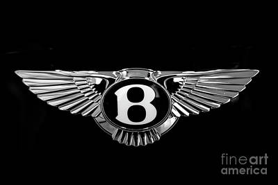 Recently Sold - Sports Royalty-Free and Rights-Managed Images - Bentley Motors Logo by Stefano Senise