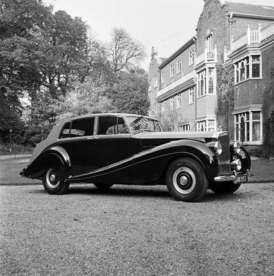 Photograph - Bentley Mulliner by Carl Sutton