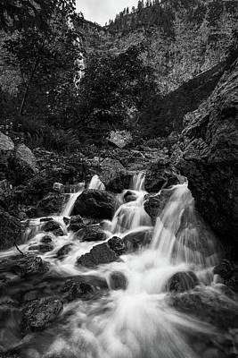 Photograph - Bergaicht-wasserfall by Andreas Levi