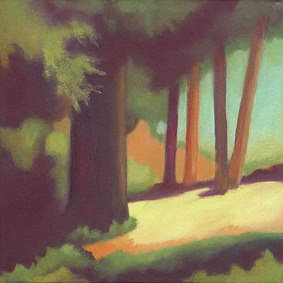Painting - Berkeley Codornices Park by Linda Ruiz-Lozito